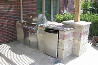 Diy Cinder Block Outdoor Kitchen Outstanding Your Home Decor