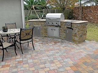 Pavestone Outdoor Kitchen Stone S Backyard Bars in Houston Tx Stevens