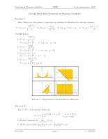 correction serie 8 fonctions a plusieures variables