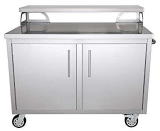 Outdoor Stainless Steel Kitchen Amazoncom Portable Cabinet