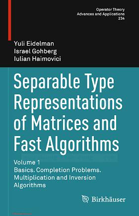 3034806051 {51C43948} Separable Type Representations of Matrices and Fast Algorithms (vol. 1_ ...) [Eidelman, Gohberg _ Haimovici 2013-10-22].pdf