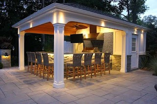 Pool House with Outdoor Kitchen 20 Design and Ideas that Will Blow Your Mind 13
