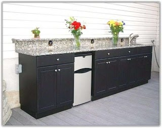 Outdoor Kitchen Cabinets IKEA Home Design Ideas Depot From