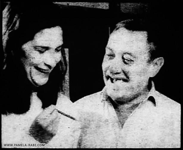 Pamela Rabe and Dennis Miller   Fish Tales