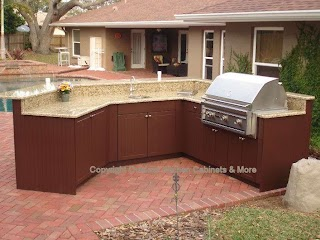 Outdoor Kitchen Cupboards Cabinets Cabinets More