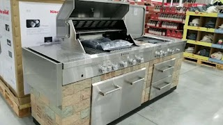 Grand Cafe Outdoor Kitchen Costco Aid 9 Island Gas Grill 2299 Jenn