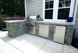 Outdoor Kitchen Beverage Center Refrigerator Refrigerators