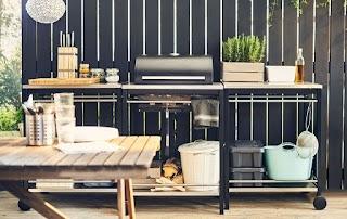 Outdoor Kitchen Units Create a Garden Dining Ideas Ikea