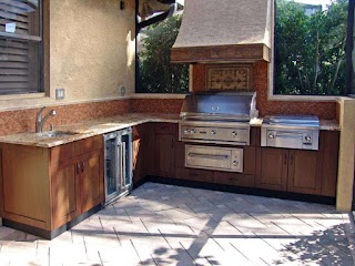 Outdoor Kitchen Cabinets Plans Pictures Tips Expert Ideas Hgtv