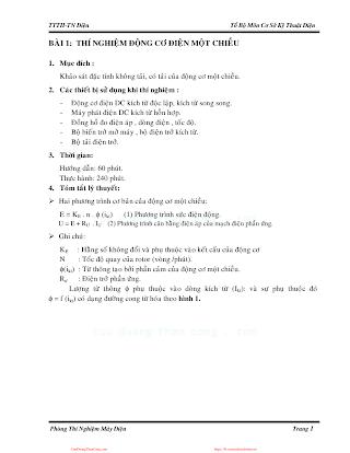 ĐHCN.Giáo Trình Thí Nghiệm Điện - Nhiều Tác Giả, 132 Trang.pdf