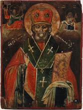 Icoana Sfantul Nicolae, sec al XVIII-lea, Ucraina