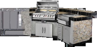 Bbq Outdoor Kitchen Islands S Grills Carts Fireplaces