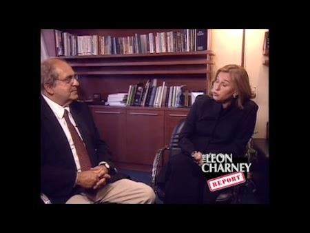 Uri Marniov and Tzipi Livni (Edited Episdoe 8/23/2015 with content from 9/19/2004