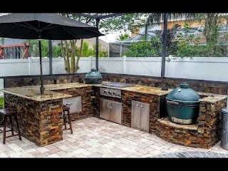 Outdoor Kitchen Pictures and Ideas Best Design Youtube