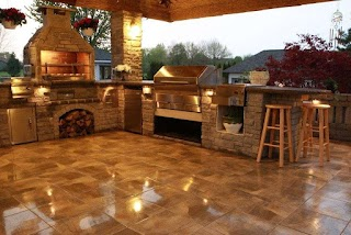 Outdoor Kitchen Smoker Plans S Our Wood Fire Grill Memphis Grills