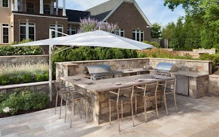 Outdoor Kitchen Layout Everything You Need to Know to Plan Your Outside Surrounds