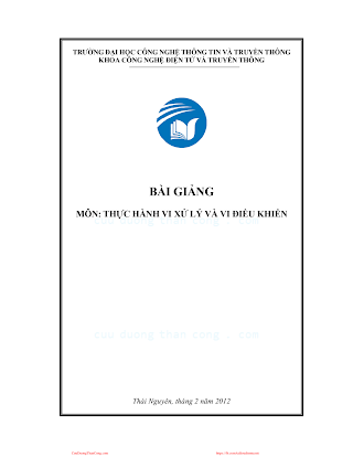 ĐHTT.Bài Giảng Thực Hành Vi Xử Lý Và Vi Điều Khiển - Nhiều Tác Giả, 133 Trang.pdf