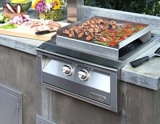 Outdoor Kitchen Griddle Alfresco Versa Power Teppanyaki Affordable S