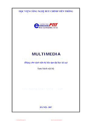 BCVT.Multimedia - Pgs. Ts. Đỗ Trung Tuấn, 137 Trang.pdf
