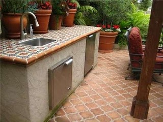 Tile Outdoor Kitchen Landscaping Network Calimesa Ca