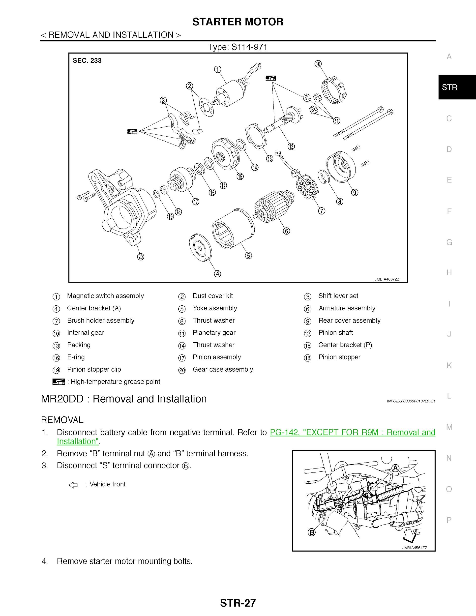 2014-2020 Nissan X-Trail T32 Service Repair Manual