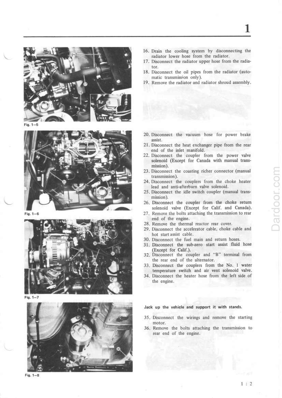 1980 Mazda RX7 service manual pdf