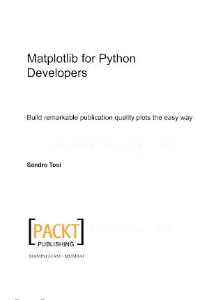 Matplotlib for Python Developers.pdf