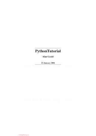 Python Tutorial Learning to Program, Version 22 January 2006.pdf