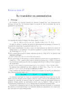 Cours Complet Sur le Transistor en Commutation Electronique General.pdf