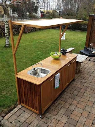 Outdoor Kitchen Cabinets Plans Cabinet Home Furniture Design Back Yard Simple