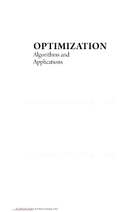 1498721125 {AE4F34E4} Optimization_ Algorithms and Applications [Arora 2015-05-21].pdf