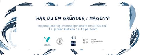 Inspirasjons- og informasjonsmøte om STUD-ENT