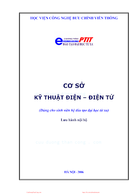 BCVT.Cơ Sở Kỹ Thuật Điện Điện Tử - Ths. Ngô Đức Thiện, 199 Trang.pdf