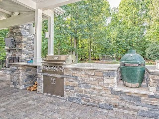 Outdoor Kitchens Richmond Va Custom Hardscaping