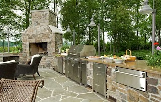 Outdoors Kitchens Pictures Outdoor Kitchen Gallery Landscaping Network