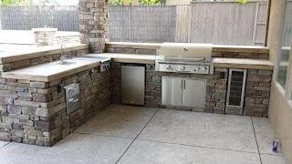 Granite for Outdoor Kitchen Bay Custom S