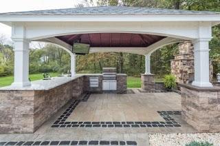 Outdoor Kitchen Pavilion Amazing Designs Country Lane Gazebos