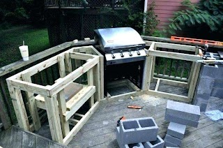 How to Frame an Outdoor Kitchen Build Pls DIY Pls Free