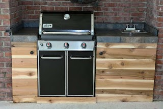 Grand Cafe Outdoor Kitchen Weber Brilliant with Charcoal Grill Interior Design