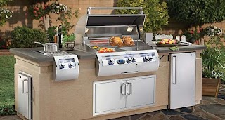 Prefabricated Outdoor Kitchen Islands Bbq Grill Outlet