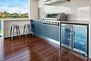 Outdoor Kitchen Melbourne S Bbq Amp Built Designs Patio Smoker