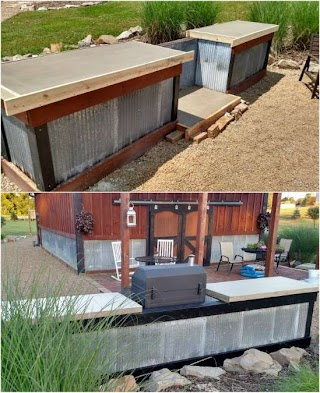 Building an Outdoor Kitchen with Wood 15 Amazing DIY Pls You C Build on a Budget Diy