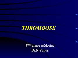 THROMBOSE.ppt
