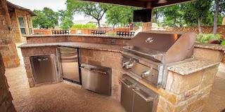 Pics of Outdoor Kitchens Kitchen Design Custom