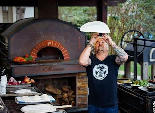 Guys Big Bite Outdoor Kitchen Guy Fieri Shares What Feeds His Appetite for Life