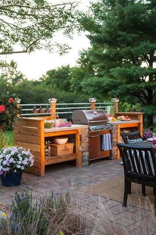 Compact Outdoor Kitchen 4 Trendy Ideas for Your Imperial Wholesale