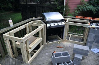 Outdoor Kitchen Kits DIY S on a Budget Home Design