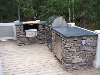 Simple Outdoor Kitchen a that Matches The Indoor