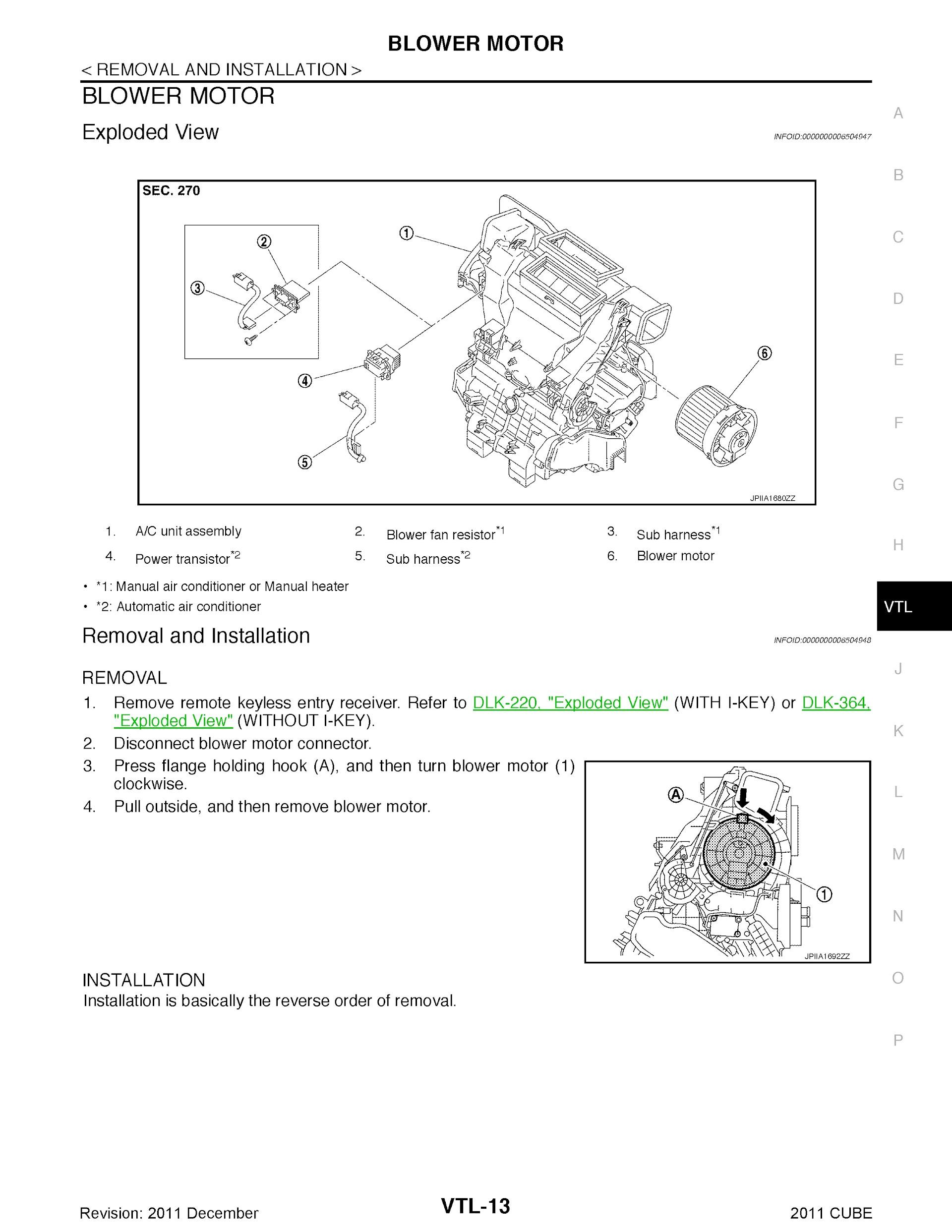 Download 2011 Nissan Cube Repair Manual.