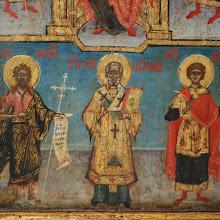 Icoana romaneasca in doua registre, sec al XVIII-lea - 168 - poza 3 - Galeria Anton